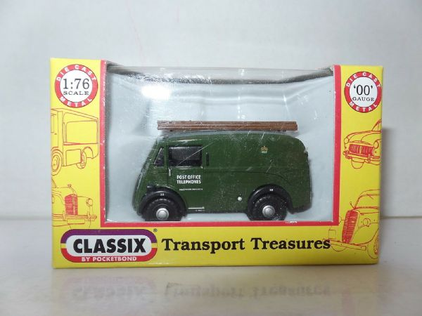 Classix EM76615 1/76 OO Scale Morris J Van GPO Post Office Telephones SALE PRICE